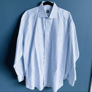 🔥2 for $15🔥Ike Behar Men's Dress Shirt